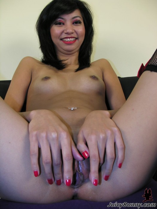 Horny Girl from Bali, Rosemary Radeva shows a little pink
